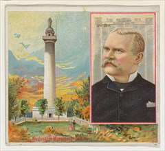 George Abel, The Baltimore Sun, from the American Editors series (N35) for Allen & Ginter Cigarettes, 1887.