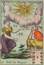 Hab.t de Hapae from Playing Cards (for Quartets) 'Costumes des Peuples Étrangers', 1700-1799.