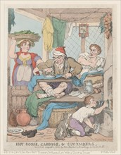 Hot Goose, Cabbage & Cucumbers, 1823.
