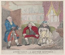 Intrusion, or The Doctor Disturb'd, January 1, 1786.