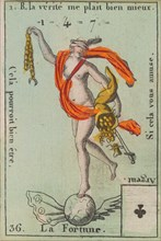 La Fortune from Playing Cards (for Quartets) 'Costumes des Peuples Étrangers', 1700-1799.