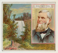 Lewis Baker, St. Paul Daily Globe, from the American Editors series (N35) for Allen & Ginter Cigarettes, 1887.