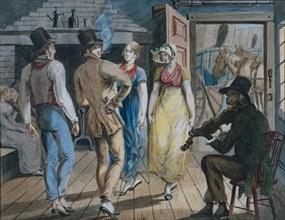 Merrymaking at a Wayside Inn, 1811-ca. 1813.