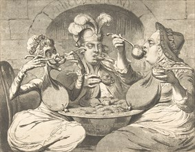 Monstrous Craws at a New Coalition Feast, May 29, 1787.