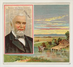 R. T. Van Horn, Kansas City Daily Journal, from the American Editors series (N35) for Allen & Ginter Cigarettes, 1887.
