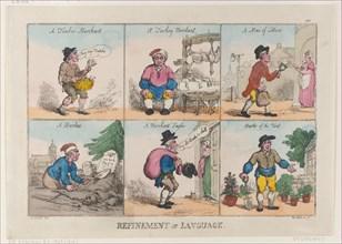 Refinement of Language, October 1, 1802.