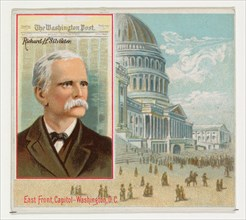 Richard H. Silvester, The Washington Post, from the American Editors series (N35) for Allen & Ginter Cigarettes, 1887.