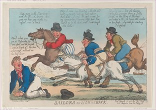 Sailors on Horseback, March 16, 1811.