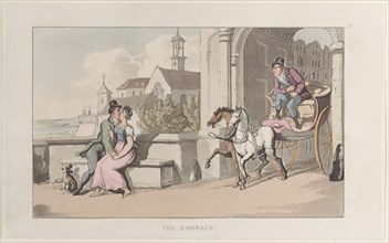 "The Embrace, from ""Journal of Sentimental Travels in the Southern Provinces of France, Shortly Before the Revolution"", 1817-21."