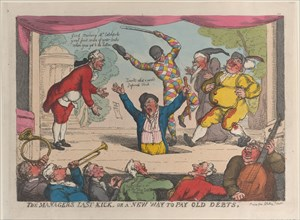 The Manager's Last Kick, or a New Way to Pay Old Debts, September 29, 1811.