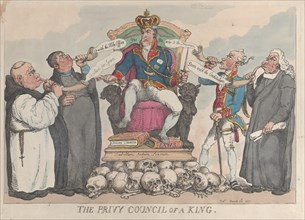 The Privy Council of a King, March 28, 1815.