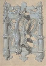 Metal Doorpull Church, second half 19th century.
