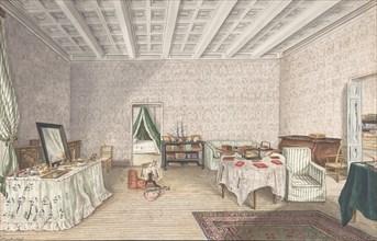 Design for interior, ca. 1830.