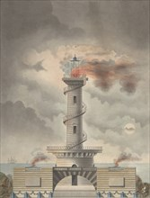 Design for a Lighthouse (Margate?), ca. 1815.