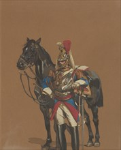 Cuirassier, 1872.