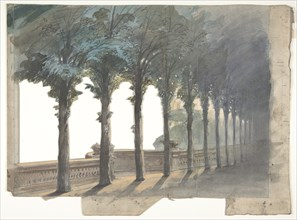 Design for a Stage Set at the Opéra, Paris, 1830-90.