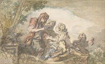 The Fortune Teller, 18th century.