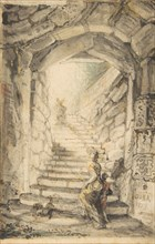 L'Escalier (The Curving Stair), 1778-79.
