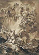 The Deliverance of Cybele, an Allegory of the Seasons, n.d..