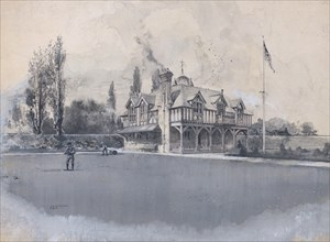 The Athletic Club at Bowling Green, ca. 1900.