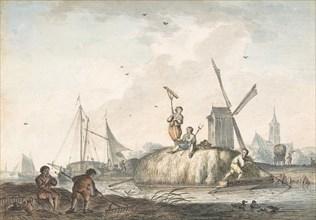The Twelve Months, 1772.