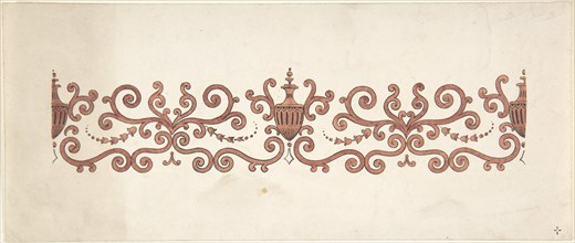 Design for Panel Decoration, 1828-40.