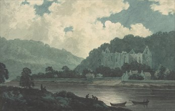 Tintern Abbey by Moonlight, ca. 1789.