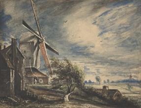 A Mill Near Colchester, 1833.
