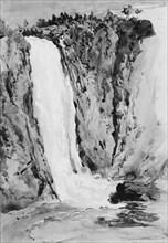 Montmorency Falls, Canada, 1850.