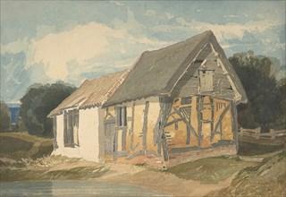 Farm Building by a Pond, 1808-11(?).