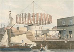 Circular Mill, King Street, New York, 1830.