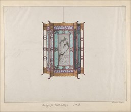 Design for a Hall Lamp, ca. 1800-1810 .