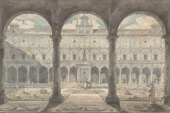 Cloister of the Certosa di San Martino, Naples, ca.1777-1779.