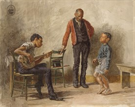The Dancing Lesson, 1878.