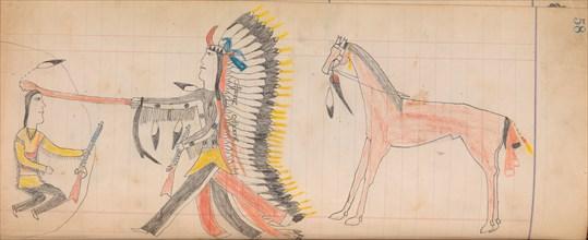 Maffet Ledger: Drawing, ca. 1874-81.