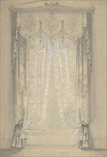 Design for Curtains, 1841-1917.