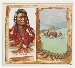 Chief Joseph, Nez Perces, from the American Indian Chiefs series (N36) for Allen & Ginter Cigarettes, 1888.