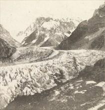 Mer de Glace from Montanvert, 1852.