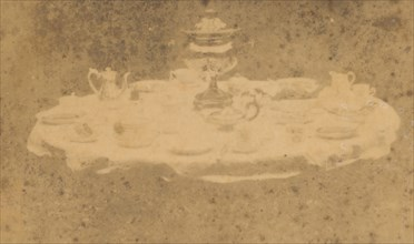 Table Set for Tea, 1841-42.