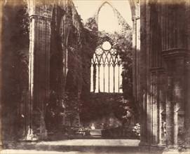 Interior, Tintern, 1857.