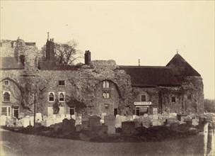 Conventual Buildings, Bury, 1858.