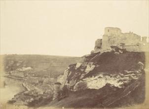 Village of Andelys - Chateau Gaillard, Coeur de Lion, 1856.