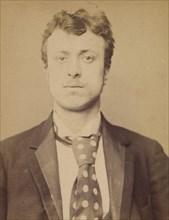 Bedei. Hercule. 21 ans, né à Sorli (Italie). Tailleur d'habits. Anarchiste. 1/3/94., 1894.