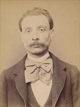 Mauroy. Alfred, édouard. 34 ans, né à Paris VIIe. Dessinateur. Anarchiste. 26/2/94., 1894.