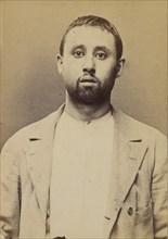 Berson. Samuel. 28 ans, né le 3/?/65 à Dinabourg (Russie). Tailleur d'habits. Anarchiste. 2/7/94. , 1894.