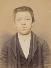Marty. Louis. 20 ans, né à Lacanne (Tarn). Tailleur d'habits. Anarchiste. 9/3/94., 1894.