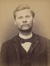 Pivat. Georges, Léopold. 34 ans, né à Vauxcié (Aisne). Tailleur d'habits. Anarchiste. 9/3/94., 1894.