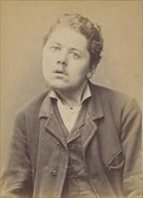 Lefebvre. Eugène, Anatole. 28 ans, né le 2/7/66 à St Pierre (Eure). Sculpteur sur bois. Anarchiste. 2/7/94. , 1894.