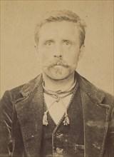 Moreau. Louis. 40 ans, né le 22/10/53 à Villiers (Nièvre). Tailleur de pierre. Anarchiste. 2/7/94. , 1894.