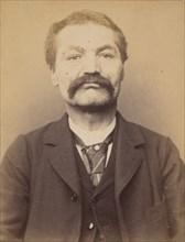 Pivier. Alexandre. 53 ans, né à Rochevan (Savoie). Tailleur d'habits. Anarchiste. 7/3/94., 1894.